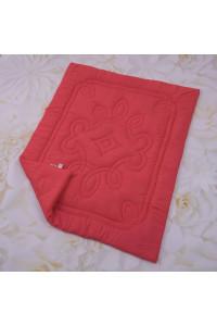 Одеяло «Барвы» кораллового цвета