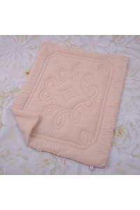 Одеяло «Барвы» пудрового цвета