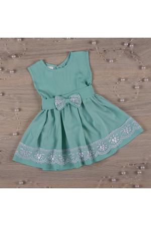 Сукня «Ангеліна» бірюзового кольору