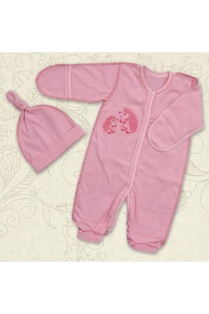 Костюм «Веселі їжачки» рожевого кольору