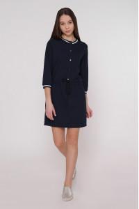 Платье «Анжела» синего цвета