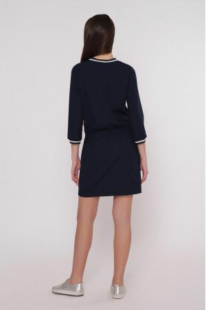 Сукня «Анжела» синього кольору