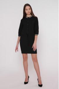 Сукня «Анжела» чорного кольору