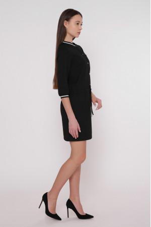 Платье «Анжела» черного цвета