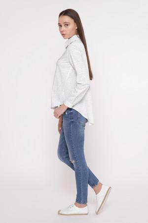 Сорочка «Анна» у крапочку
