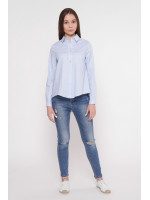 Рубашка «Анна» голубого цвета
