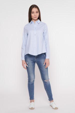 Сорочка «Анна» блакитного кольору