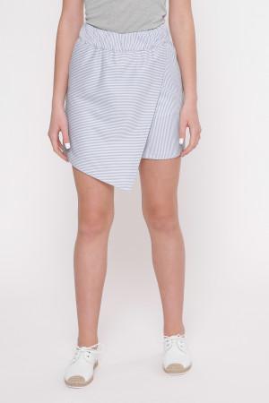 Спідниця-шорти «Ларі» у блакитну смужку