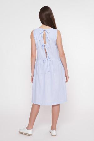Платье «Аманда» голубого цвета