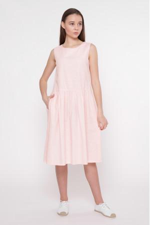 Платье «Аманда» цвета пудры