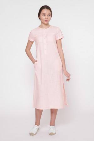 Платье «Клео» цвета пудры