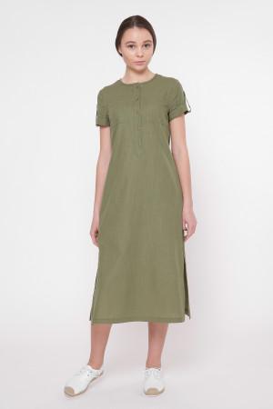 Сукня «Клео» кольору хакі