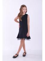 Платье «Виардо» черного цвета