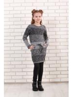 Сукня «Маня» сірого кольору