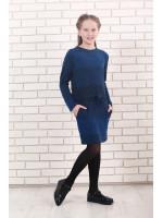 Сукня «Маня» синього кольору