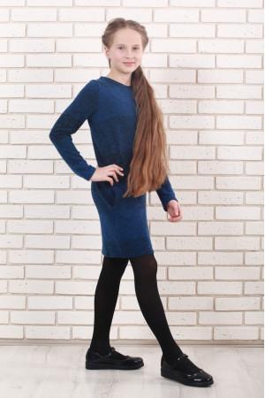 Платье «Маня» синего цвета