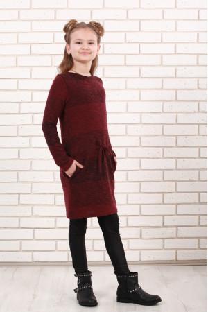Сукня «Маня» бордового кольору