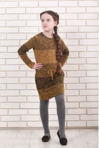 Сукня «Маня» гірчичного кольору