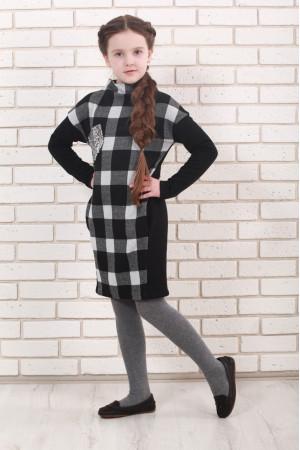 Сукня «Піпін» чорно-білого кольору