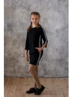 Платье «Милли» черного цвета