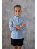 Рубашка «Гисса» голубого цвета