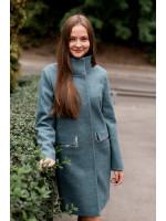 Жіноче пальто «Адора» кольору полину