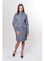 Жіноче пальто «Адора» темно-сірого кольору