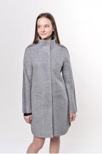Женское пальто «Несса» серого цвета