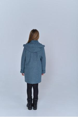 Дитяче пальто «Вайлет» кольору полину
