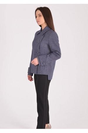 Жіноче пальто «Тріора» синього кольору