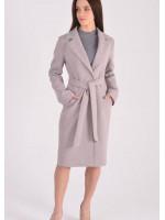 Женское пальто «Брисса» бежевого цвета