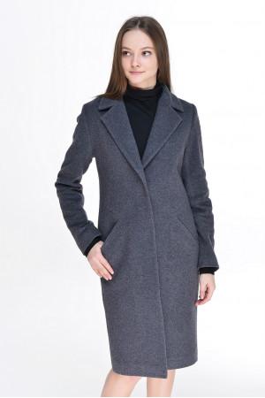 Жіноче пальто «Брісса» темно-сірого кольору