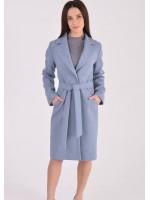 Жіноче пальто «Брісса» блакитного кольору