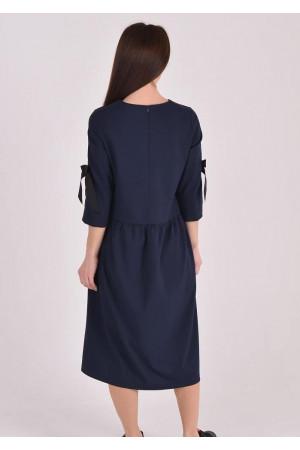 Платье «Шонен» синего цвета