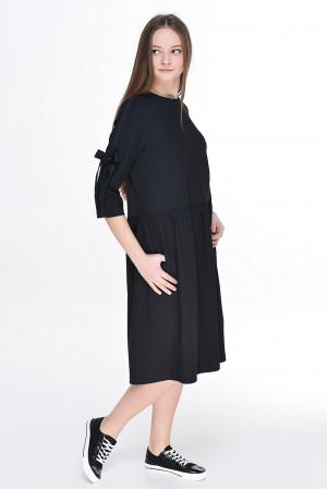 Платье «Шонен» черного цвета