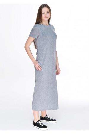 Платье «Гаяне» серого цвета