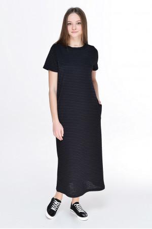 Платье «Гаяне» черного цвета
