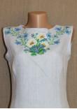 Сукня «Ромашки» блакитного кольору