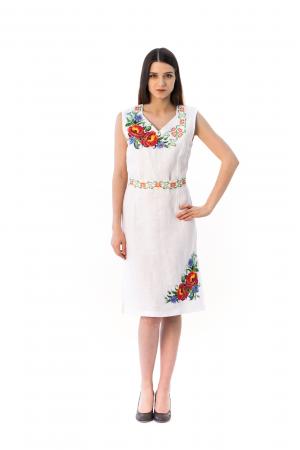 Платье «Панянка» с коротким рукавом