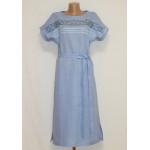 Платье «Мережка» голубого цвета