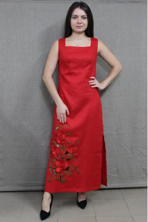 Платье «Шарм» красного цвета