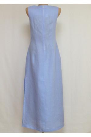 Платье «Шарм» голубого цвета