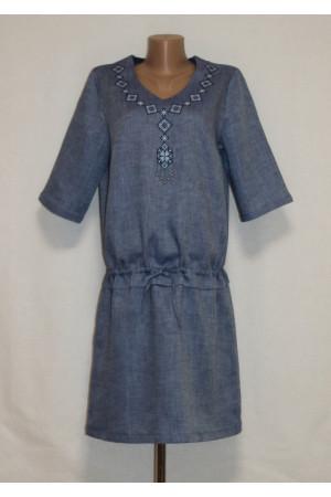 Сукня «Гердана» синього кольору