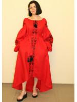 Сукня «Квіткові чари» червоного кольору