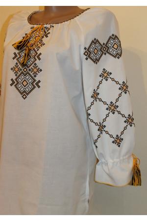 Вишиванка «Світанок» з жовтою вишивкою