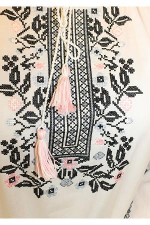 Вышиванка «Сокальская» белого цвета