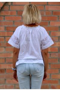 Вышиванка «Мережка» с белой вышивкой