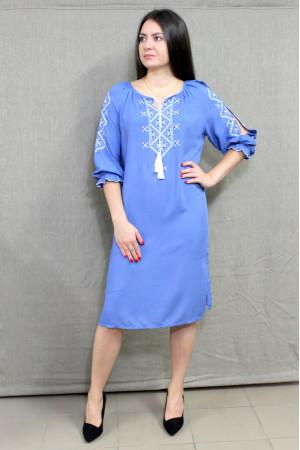 Сукня «Стожари» блакитного кольору