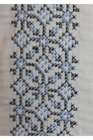 Вишиванка «Відродження» з сірим орнаментом