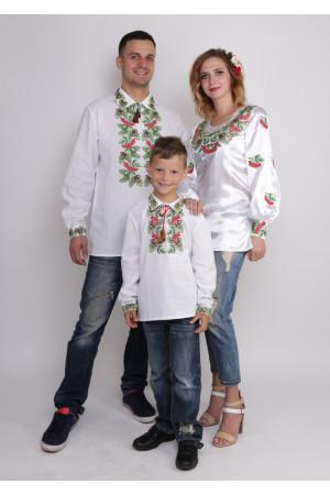 Семейный комплект вышиванок «Красота и сила»
